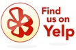 Yelp, Find us on Yelp, Reviews, comments, travel agency, connect with us, leave a review